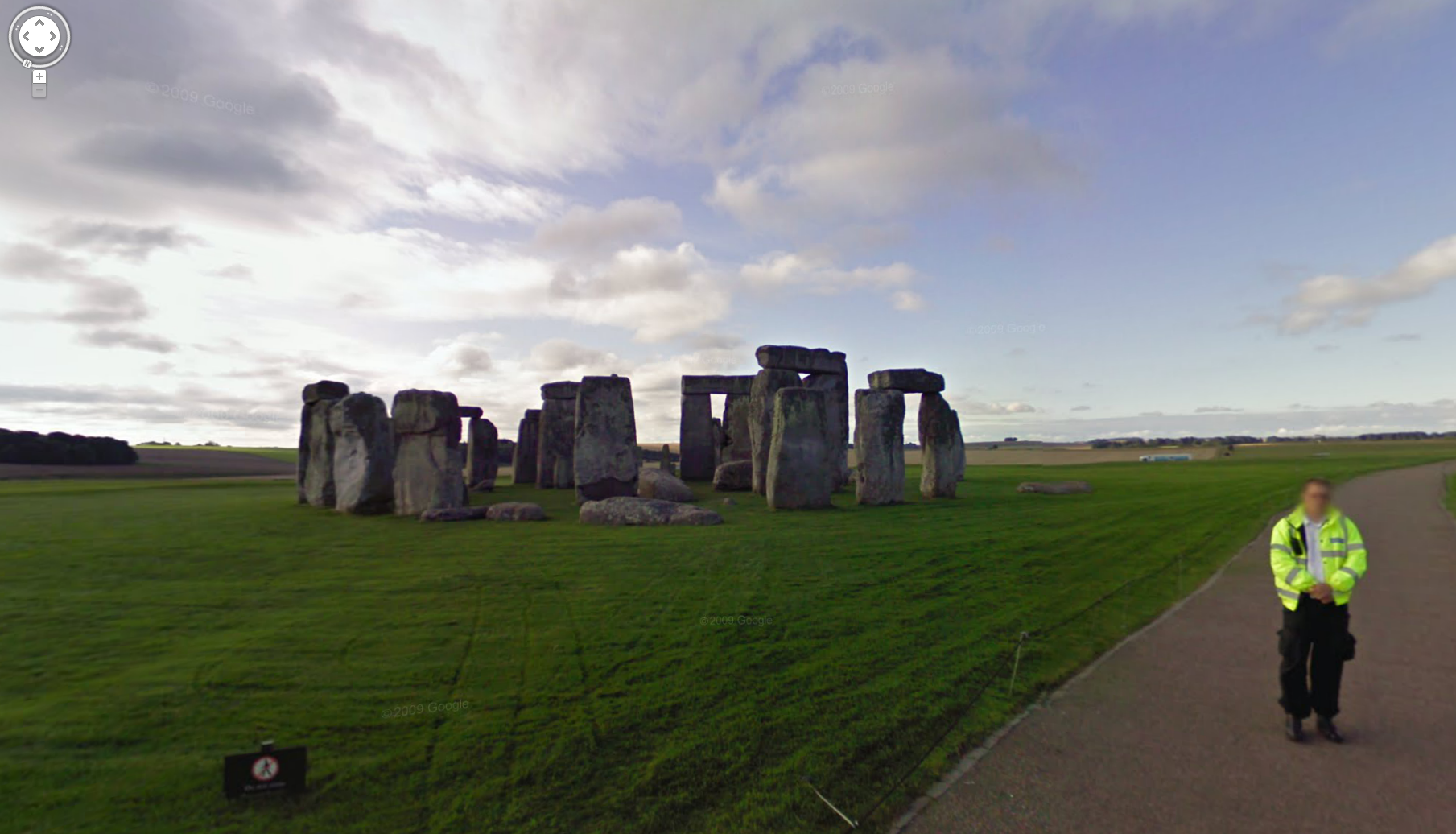 Stonehenge now on Google Maps Streetview!