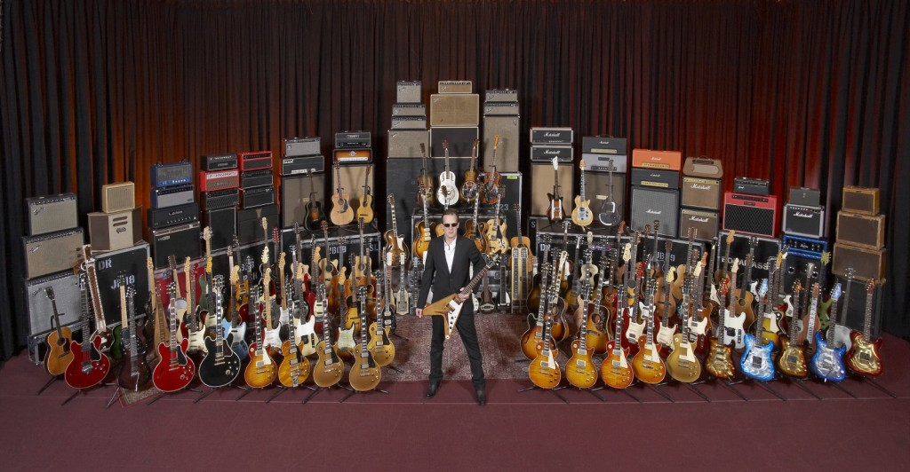 Drool: Joe Bonamassa's guitar & gear collection