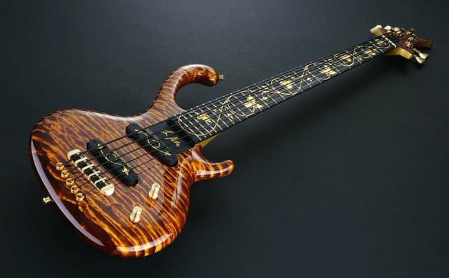 The Most Expensive Bass Guitar