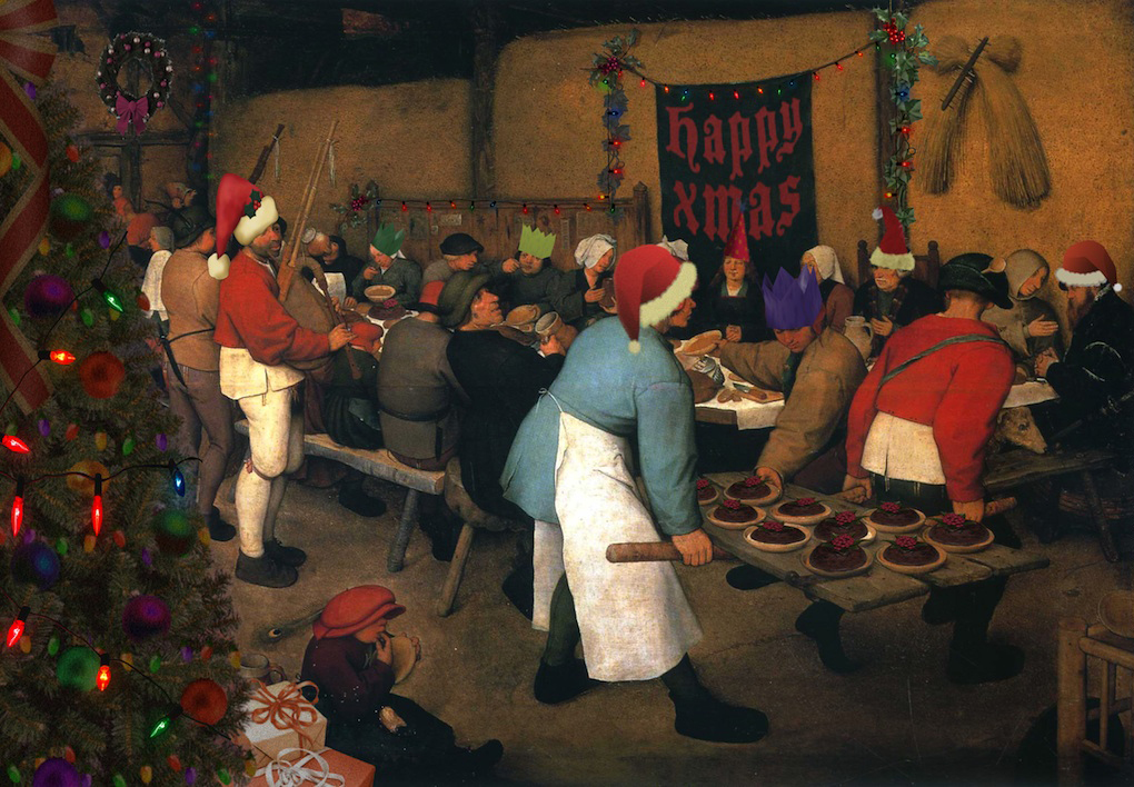 Bruegel's Peasant Christmas (a.k.a. The Peasant Wedding)