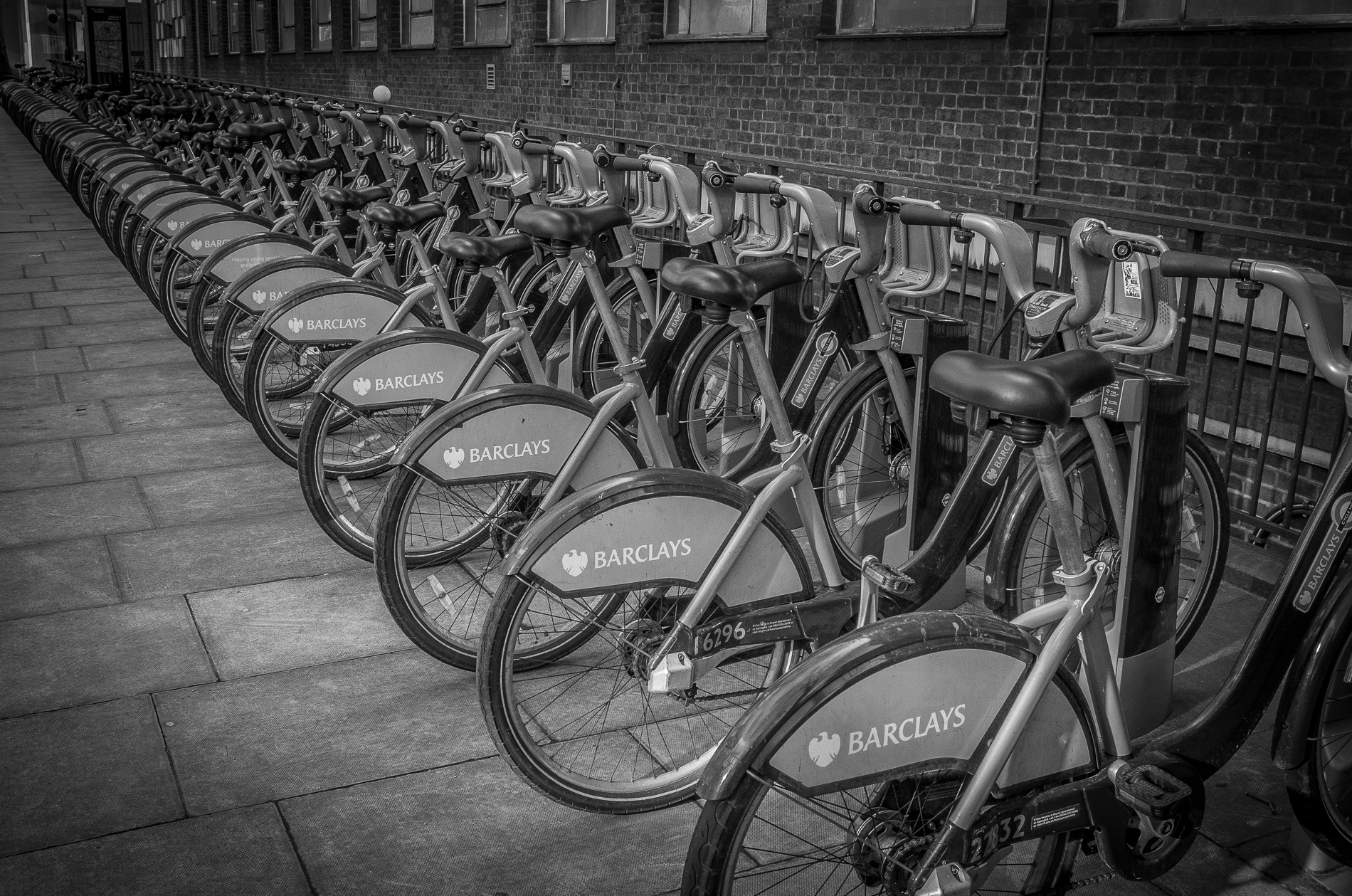 Boris Bikes – Clerkenwell Road